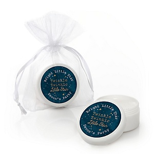 Twinkle Twinkle Little Star - Personalized Party Lip Balm Favors - Set of 12