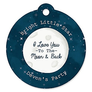 Twinkle Twinkle Little Star - Personalized Party Tags - 20 ct