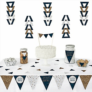 Twinkle Twinkle Little Star -  Triangle Party Decoration Kit - 72 Piece