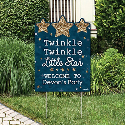 Twinkle Twinkle Little Star Baby Shower Theme Bigdotofhappiness