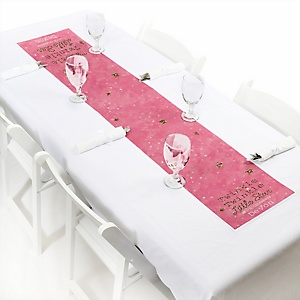 Pink Twinkle Twinkle Little Star - Personalized Party Petite Table Runner