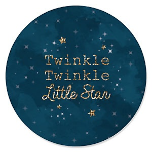 Twinkle Twinkle Little Star - Baby Shower Theme