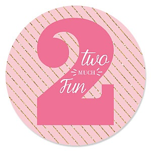 Two Much Fun - Girl - Birthday Party Theme