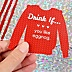 Drink If - Ugly Sweater - Holiday & Christmas Party Game - Set of 24
