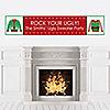Ugly Sweater - Personalized Holiday & Christmas Party Banner