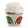 Ugly Sweater - Holiday & Christmas Party Decorations - Party Cupcake Wrappers - Set of 12