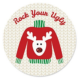 Ugly Sweater - Holiday & Christmas Party Theme