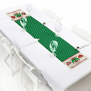 "Ugly Sweater - Personalized Petite Holiday & Christmas Party Table Runner - 12"" x 60"""