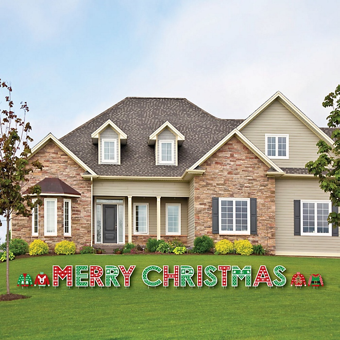 Ugly Sweater - Yard Sign Outdoor Lawn Decorations - Holiday & Christmas Party Yard Signs - Merry Christmas