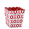 Valentine's Day - Party Mini Favor Boxes - Personalized Valentine's Day Party Treat Candy Boxes - Set of 12