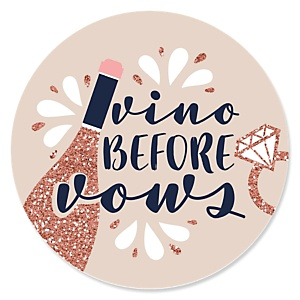 Vino Before Vows - Winery Bridal Shower or Bachelorette Party Theme