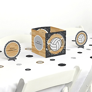 Bump, Set, Spike - Volleyball - Party Centerpiece & Table Decoration Kit