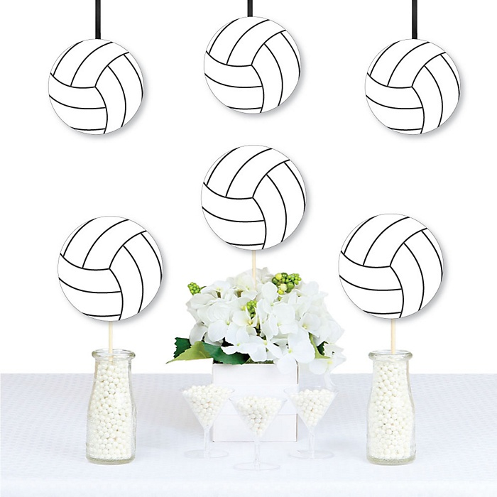 Bump, Set, Spike - Volleyball - Decorations DIY Baby Shower or Birthday Party Essentials - Set of 20