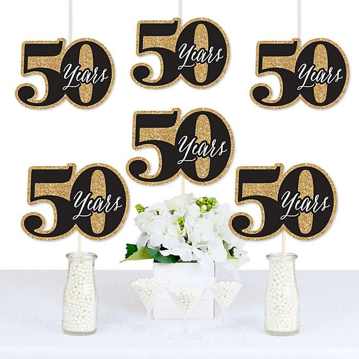 We Still Do - 50th Wedding Anniversary - Decorations DIY Anniversary Party Essentials - Set of 20