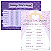 Bridal Firsts Unscramble and Wedding Word Search - Bridal Shower Games - 18 ct