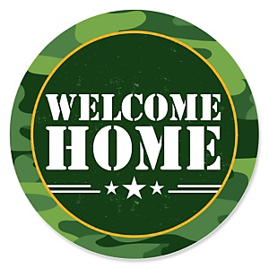 Welcome Home Hero - Military Army Homecoming Theme
