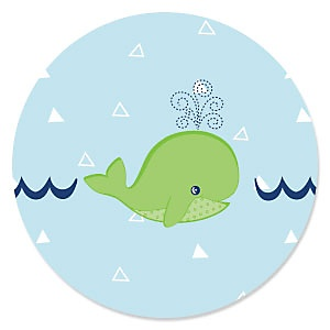 Tale Of A Whale - Birthday Party Theme