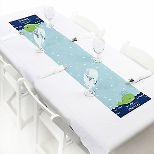 Tale Of A Whale - Personalized Party Petite Table Runner