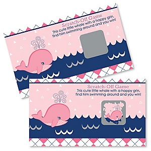 Tale Of A Girl Whale - Party Game Scratch Off Cards - 22 ct