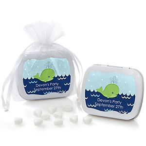 Tale Of A Whale - Personalized Party Mint Tin Favors