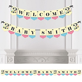 What Will It BEE? - Personalized Gender Reveal Bunting Banner and Decorations