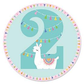2nd Birthday - Whole Llama Fun - Llama Fiesta Second Birthday Party Theme