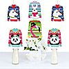 Wild and Ugly Sweater Party - Sweater Decorations DIY Holiday and Christmas Animals Party Essentials - Set of 20