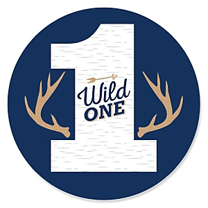 He's a Wild One - Deer 1st Birthday Party Theme
