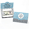 Winter Wonderland - Set of 8 Snowflake Holiday Party & Winter Wedding Money And Gift Card Holders
