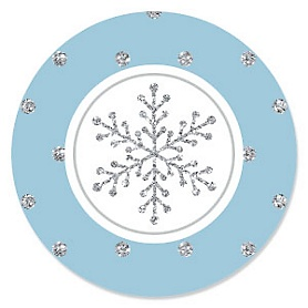 Winter Wonderland - Snowflake Holiday Party & Winter Wedding  Theme