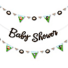 Woodland Creatures - Baby Shower Letter Banner Decoration - 36 Banner Cutouts and Baby Shower Banner Letters