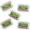 Woodland Creatures - Mini Candy Bar Wrapper Stickers - Baby Shower or Birthday Party Small Favors - 40 Count