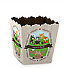 Woodland Creatures - Party Mini Favor Boxes - Personalized Party Treat Candy Boxes - Set of 12