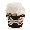 Woodland Creatures - Party Cupcake Wrappers & Decorations