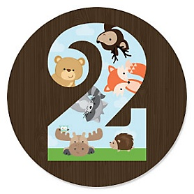 2nd Birthday - Woodland Creatures Second Birthday Party Theme