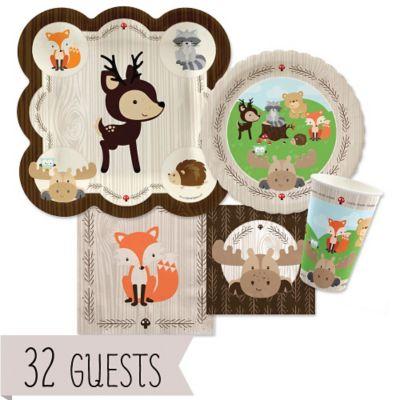 Woodland Creatures   Baby Shower 32 Big Dot Bundle