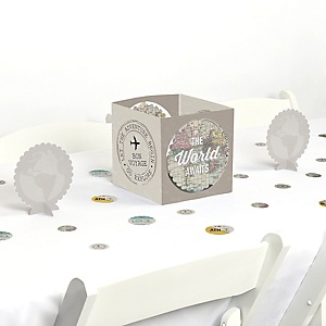 World Awaits - Travel Themed Party Centerpiece and Table Decoration Kit