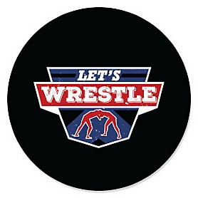 Own The Mat - Wrestling - Sports Party Theme