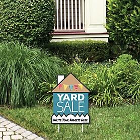 Yard Sale - Outdoor Lawn Sign - Yard Sign - 1 Piece
