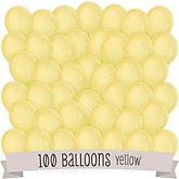 Yellow - Baby Shower Latex Balloons - 100 ct