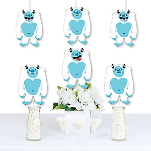 Yeti to Party - Decorations DIY Abominable Snowman Party or Birthday Party Essentials - Set of 20