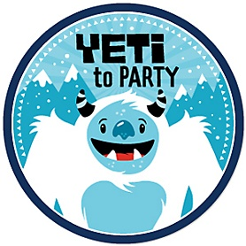 Yeti to Party - Abominable Snowman Party Theme
