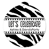 Zebra - Personalized Everyday Party Tags - 20 ct