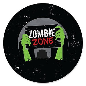 Zombie Zone - Halloween or Birthday Zombie Crawl Party