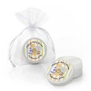 Zoo Crew - Zoo Animals Personalized Baby Shower Lip Balm Favors - Set of 12