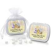 Zoo Crew - Zoo Animals Personalized Baby Shower Mint Tin Favors